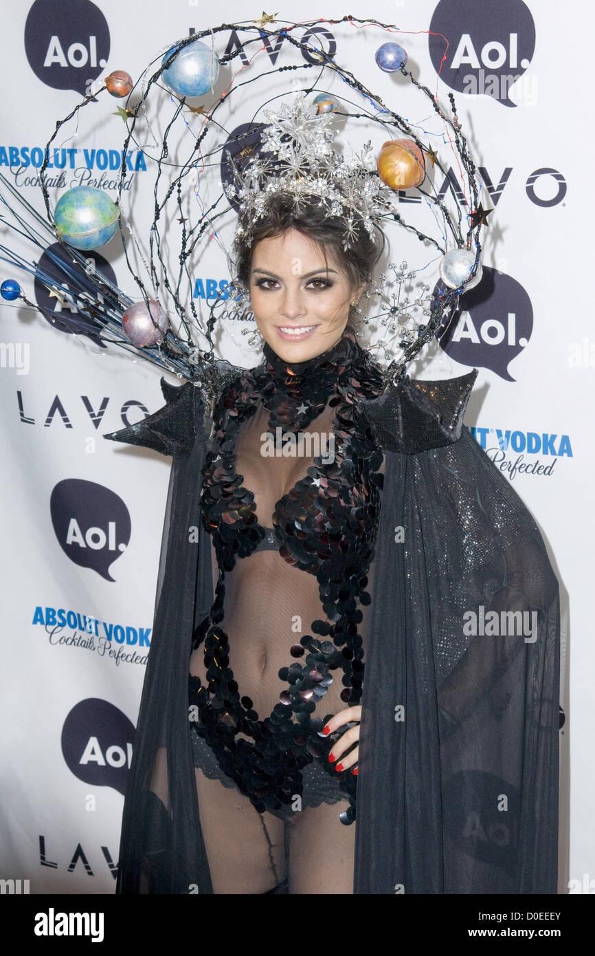 Ximena Navarrete Heidi Klum's 11th Annual Halloween Party at Lavo ...