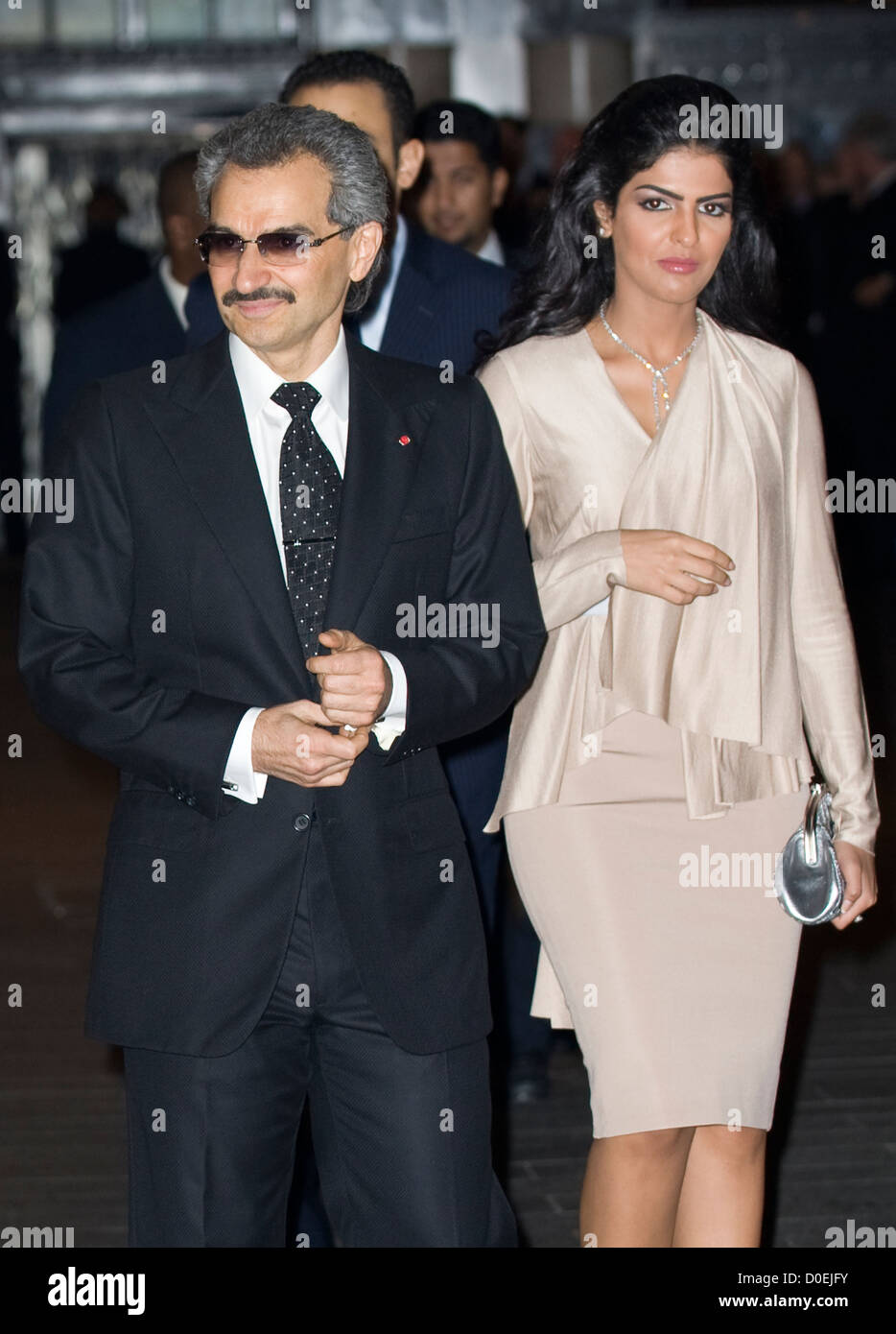 Part owner of the Savoy Hotel Prince Alwaleed Bin Talal ... Prince Alwaleed Bin Talal Wife Amira