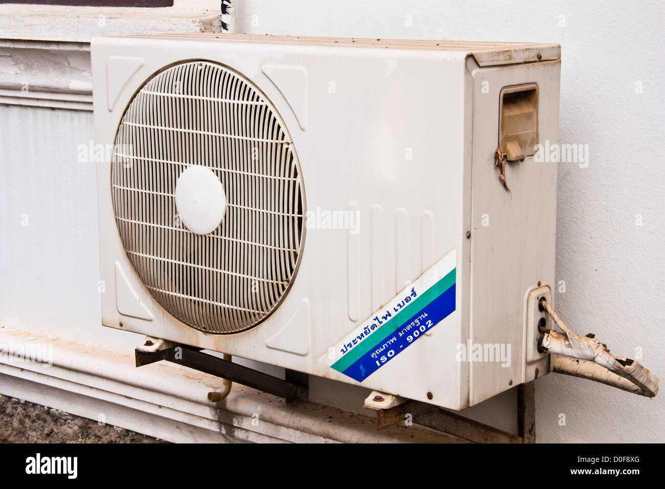 Air Conditioner Condenser Unit To Supply The Home Stock