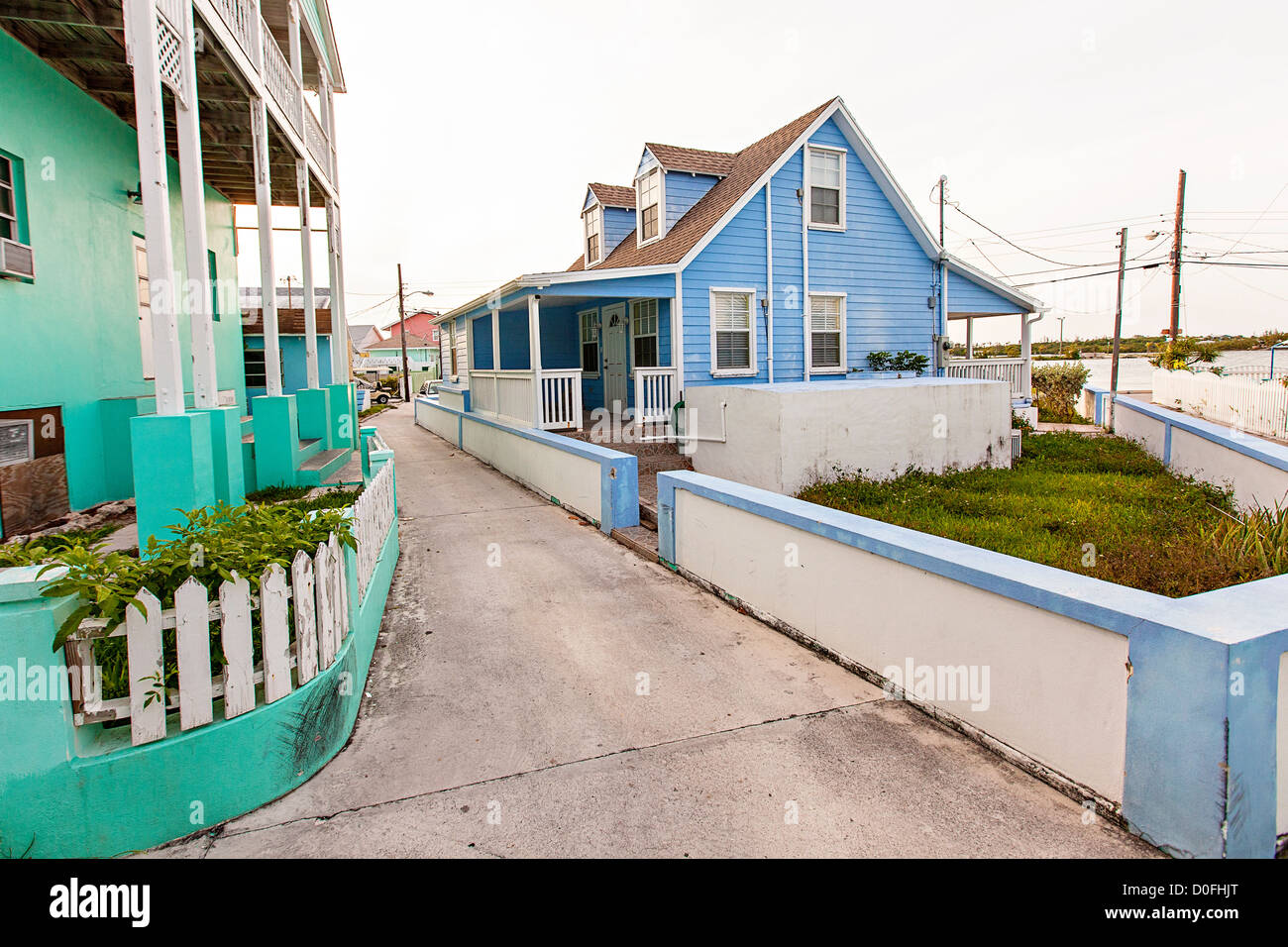 House rentals green turtle cay - Pastel Colored Houses In New Plymouth On Green Turtle Cay Bahamas