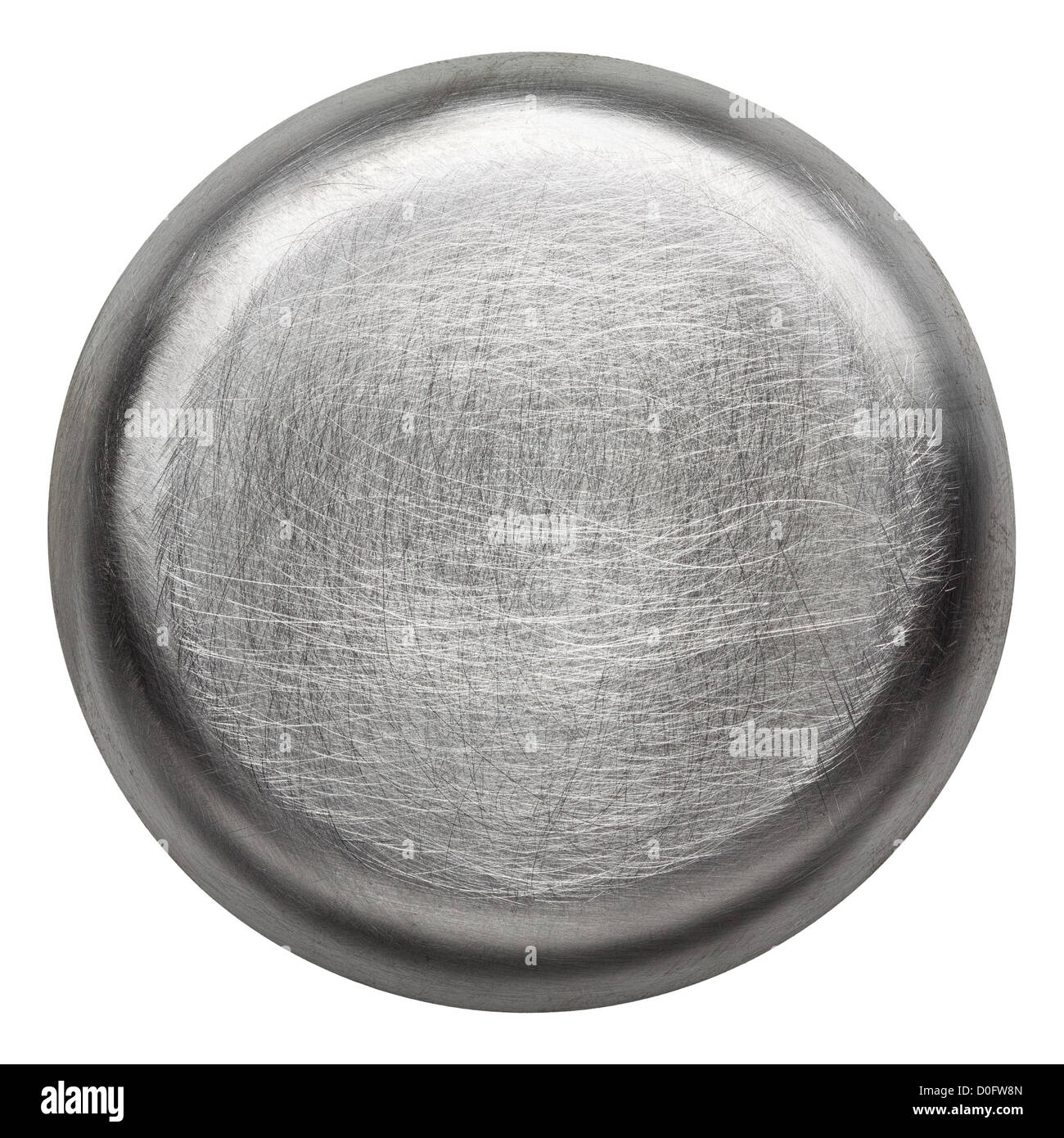 Scratched round metal plate texture, background Stock ...