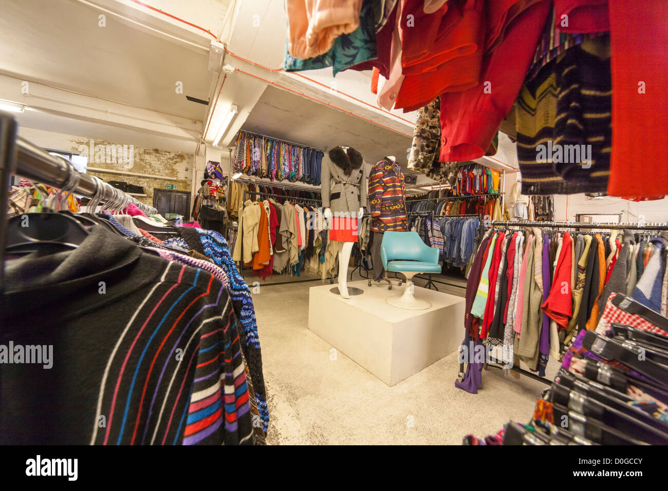 Resale clothes store