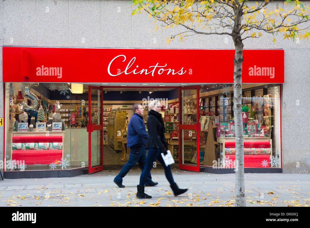 Shop front Clintons greeting card retailer Cheapside London – Birthdays Card Shop Uk
