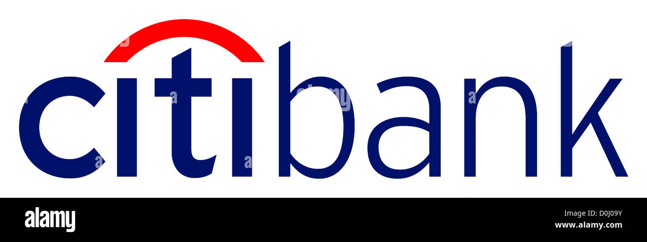 logo of the american financial service provider citibank