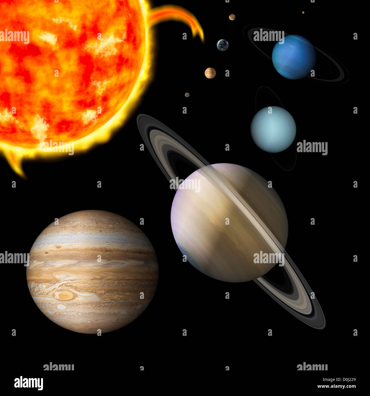 its nine planets and sun - photo #3
