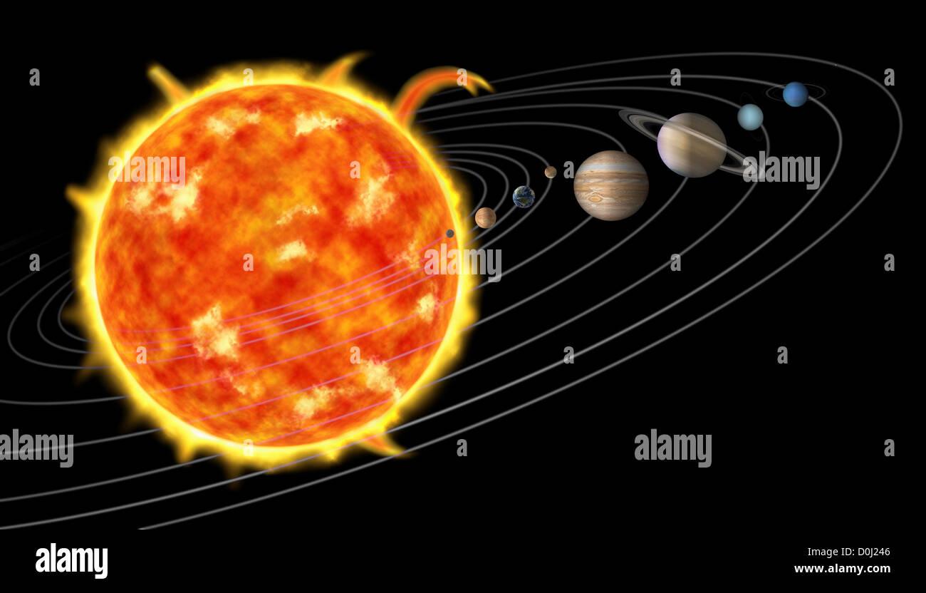its nine planets and sun - photo #14