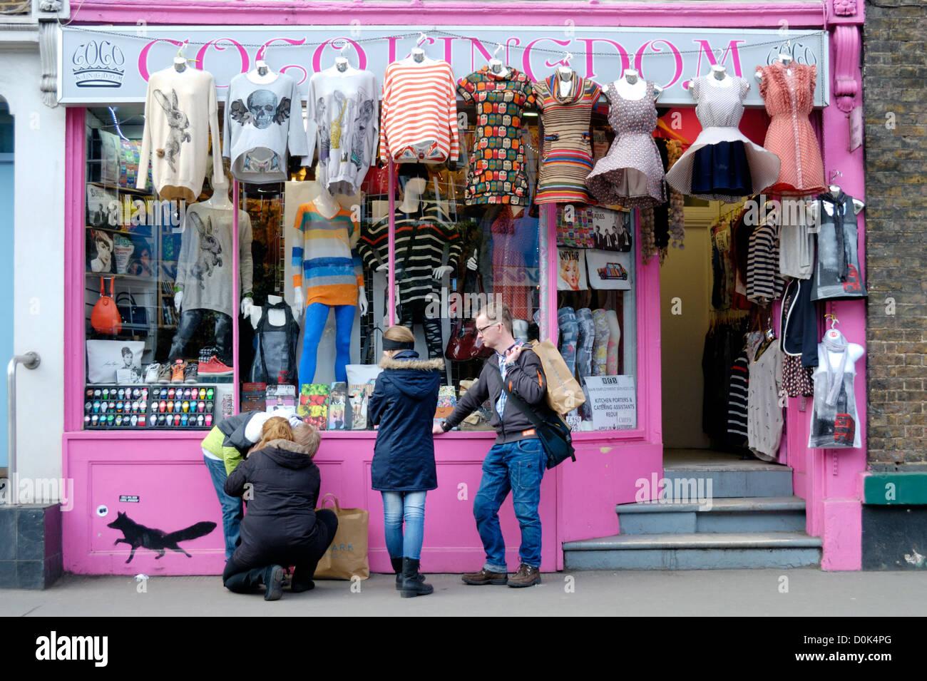 Exterior Of Coco Kingdom Fashion Boutique In Pembridge Road