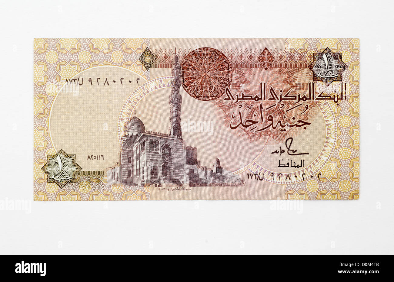 Banknote of egypt stock photos banknote of egypt stock images alamy bank of egypt 1 one pound note banknotes egyptian money stock image biocorpaavc Images