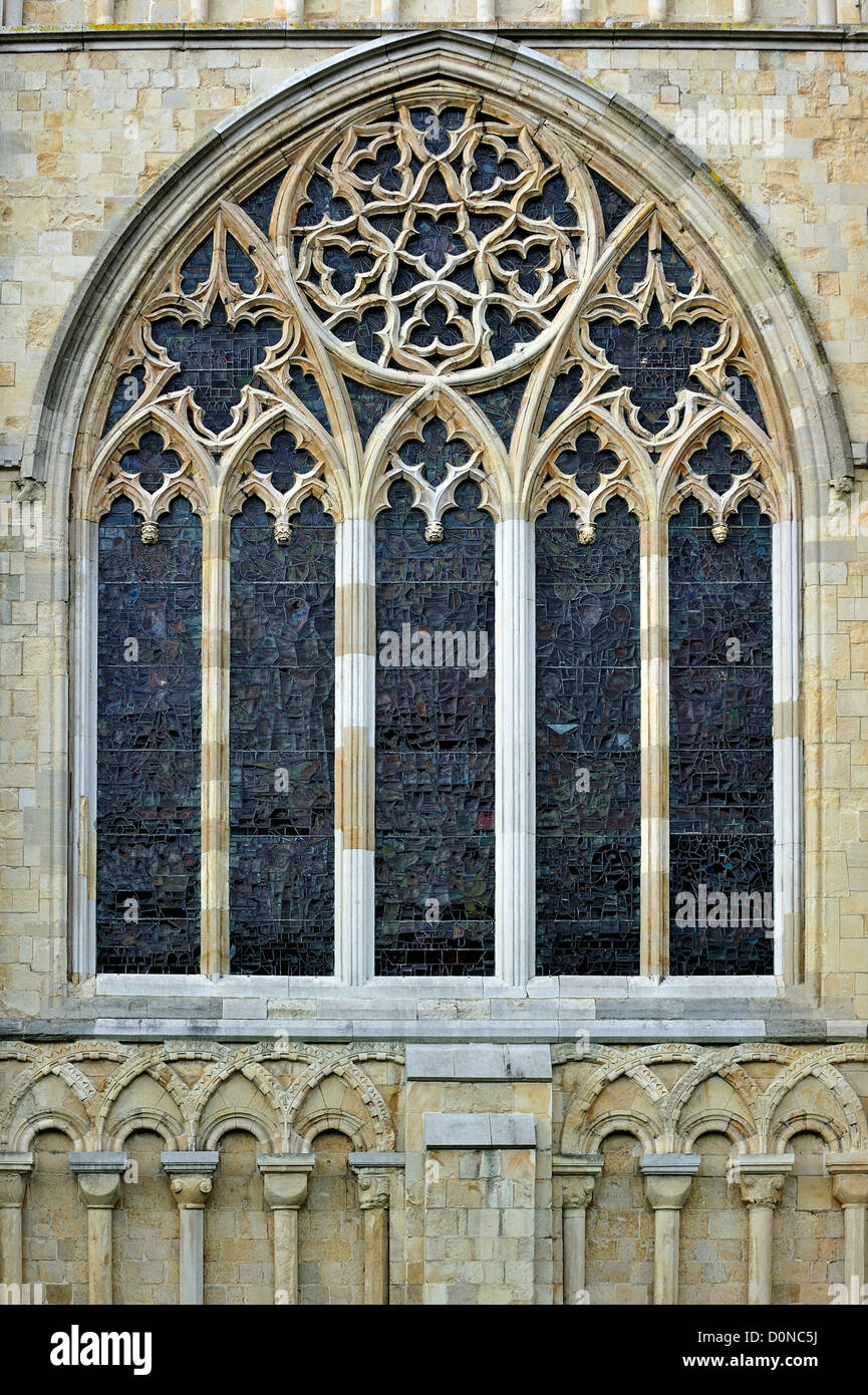 bar tracery in gothic window of the canterbury cathedral. Black Bedroom Furniture Sets. Home Design Ideas