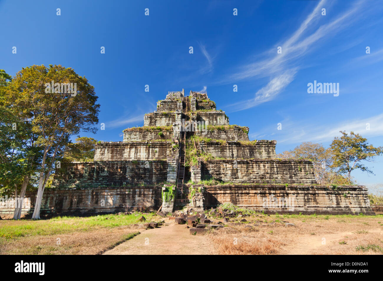 ancient-khmer-pyramid-in-koh-kher-cambod