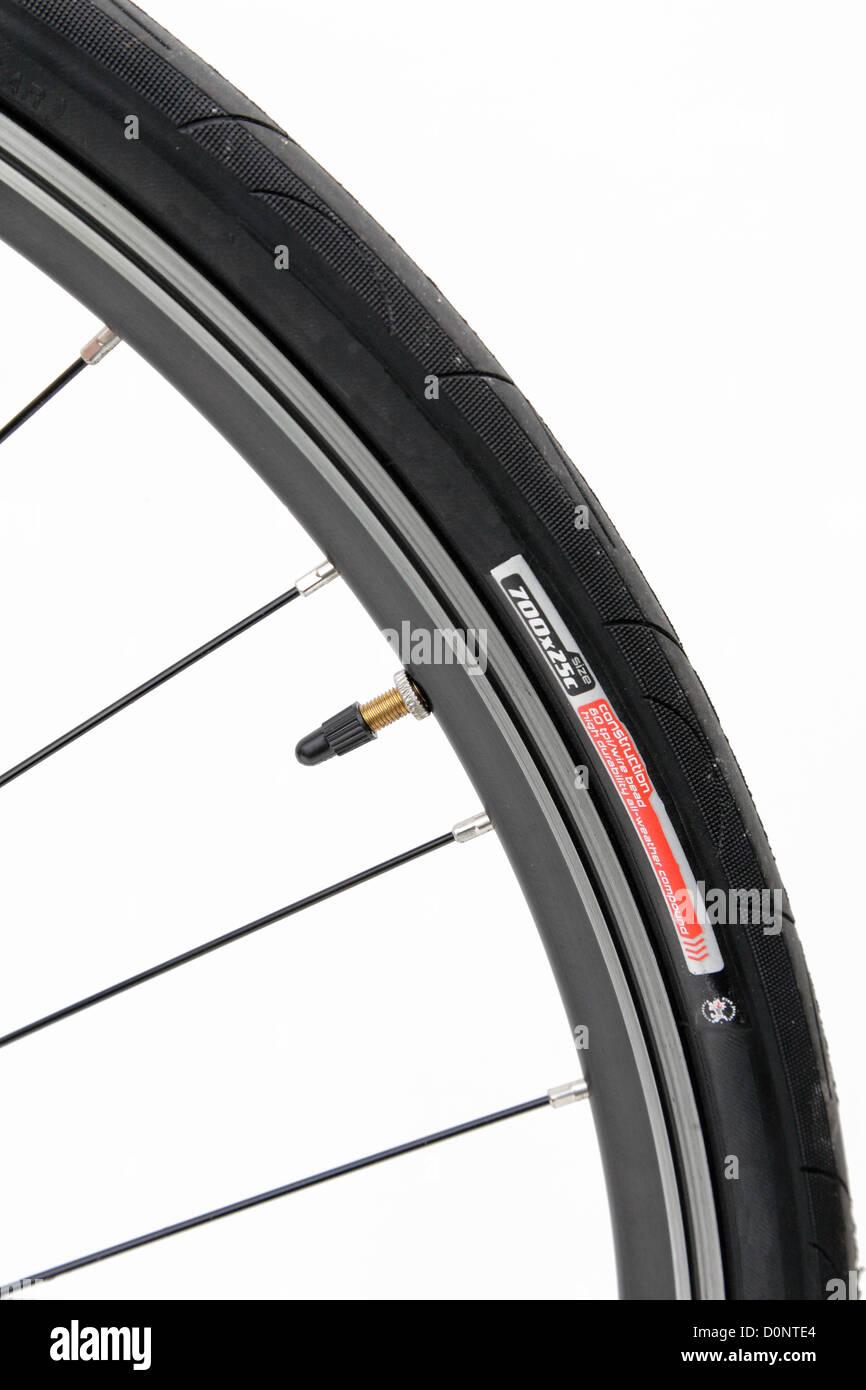 Bike Wheel Tyre Tire Presta Valve Spokes Nipple Rim Racing Bicycle