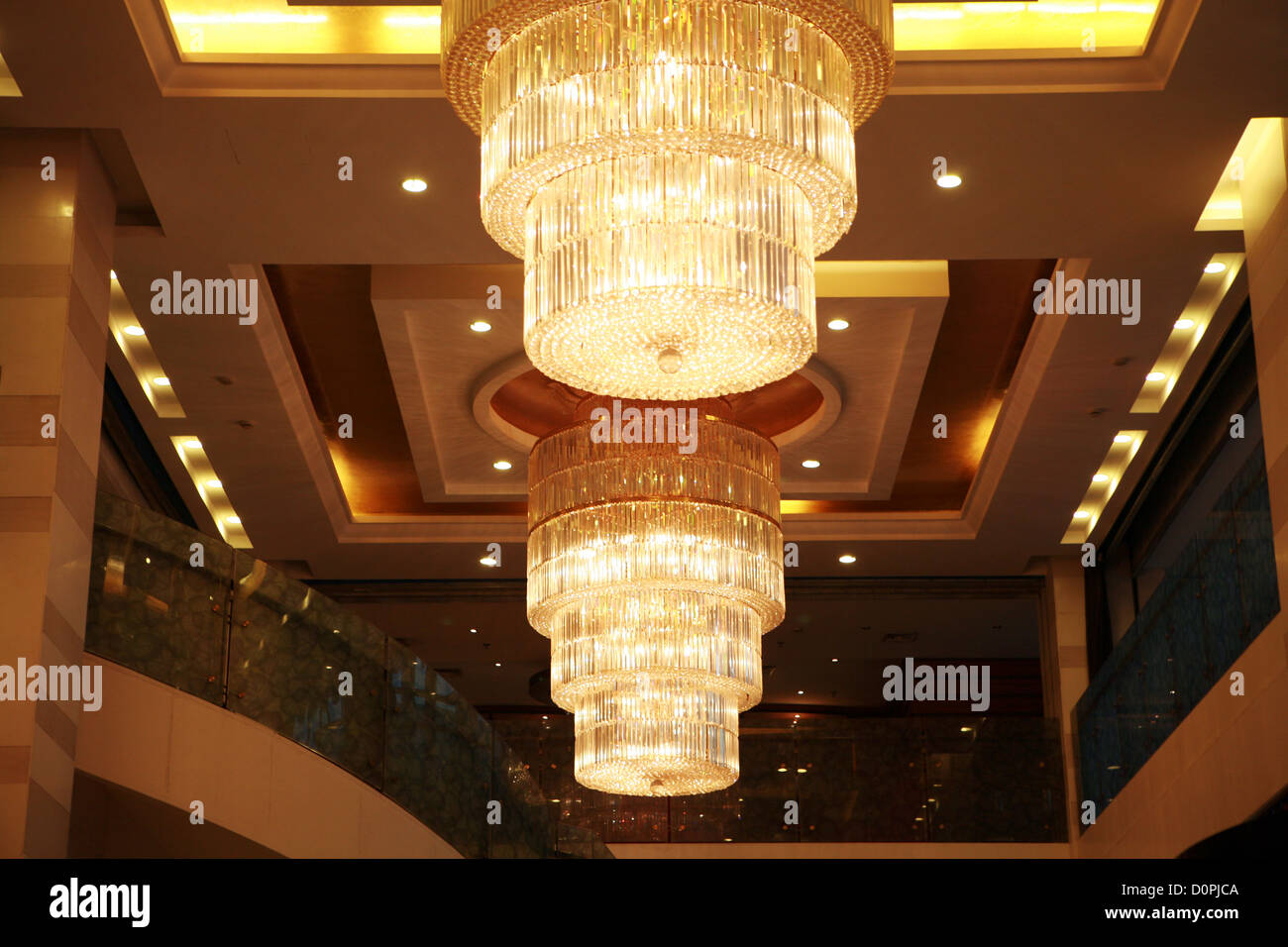Close up of elegant crystal chandelier stock photo royalty free close up of elegant crystal chandelier arubaitofo Choice Image