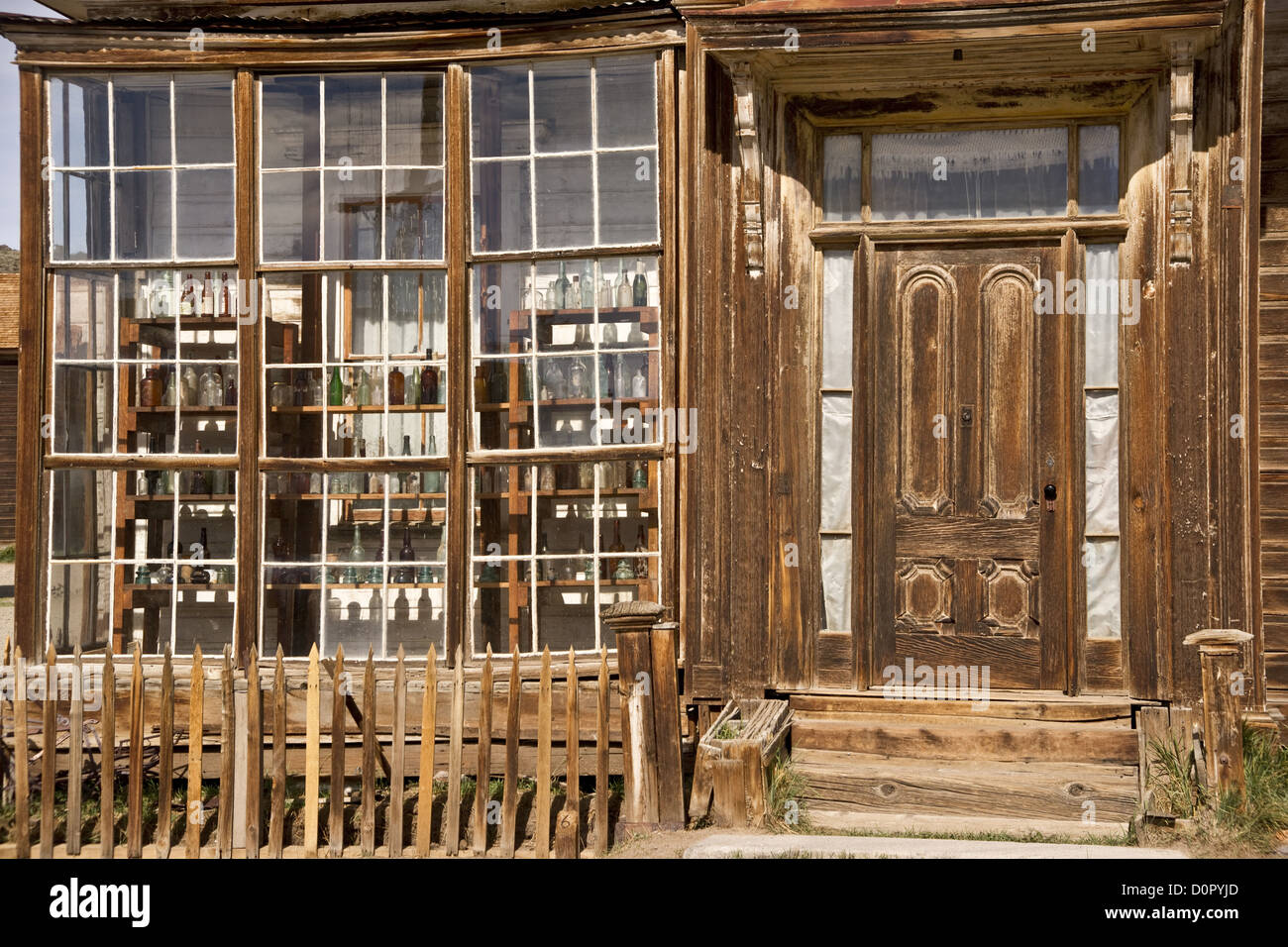 Furniture store front - Old West Store Front Stock Image