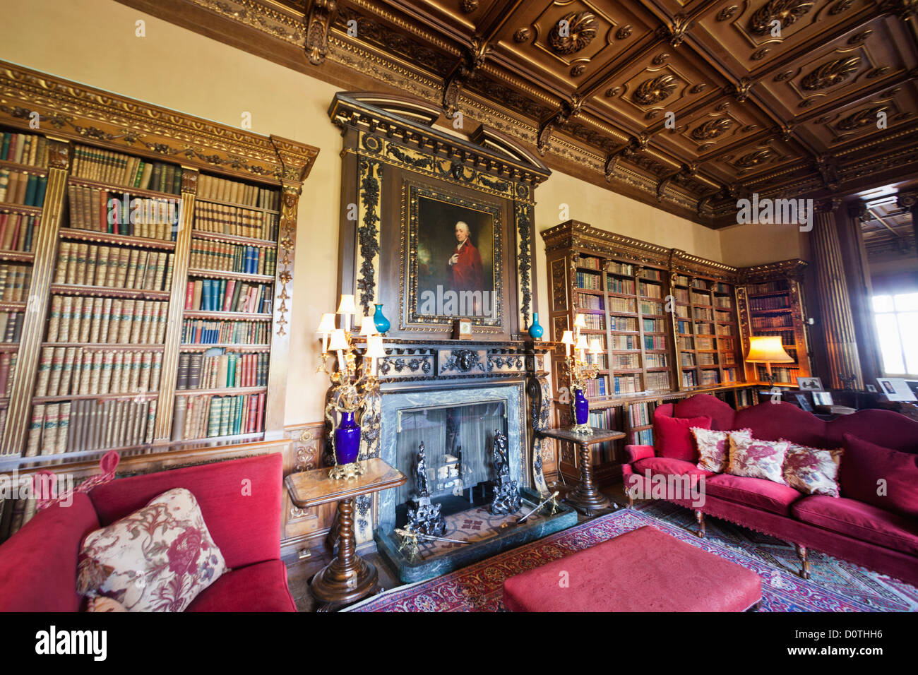 highclere castle interior stock photos & highclere castle interior