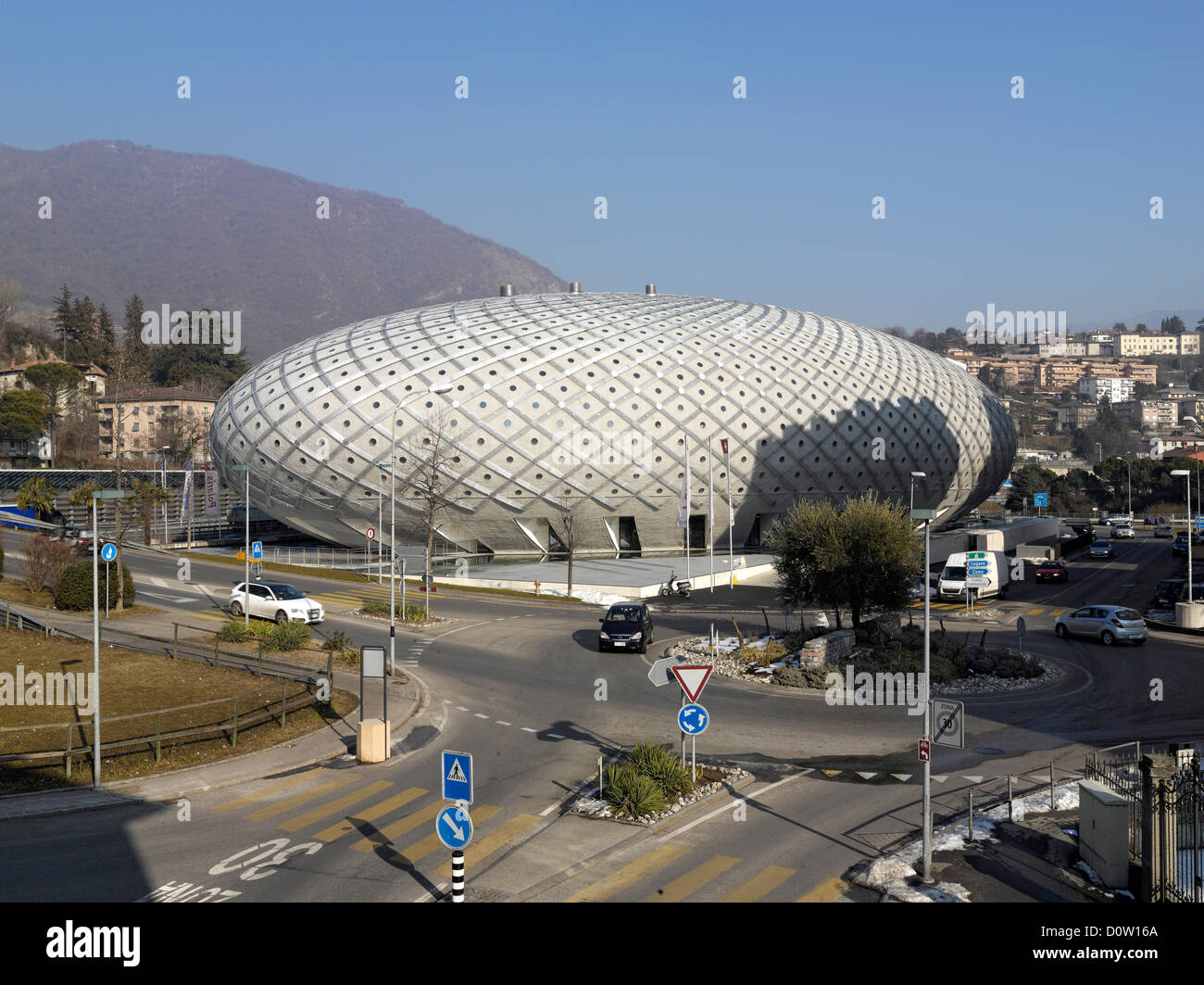 Modern Architecture Europe centro polaris, chiasso, switzerland, europe, modern, architecture