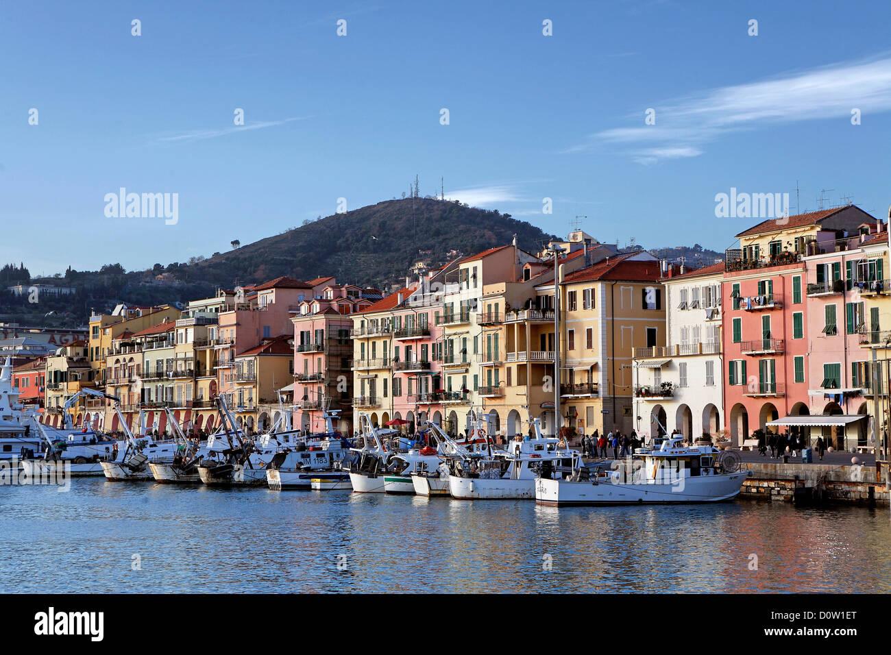 Italy europe liguria imperia oneglia harbour port for Oneglia imperia