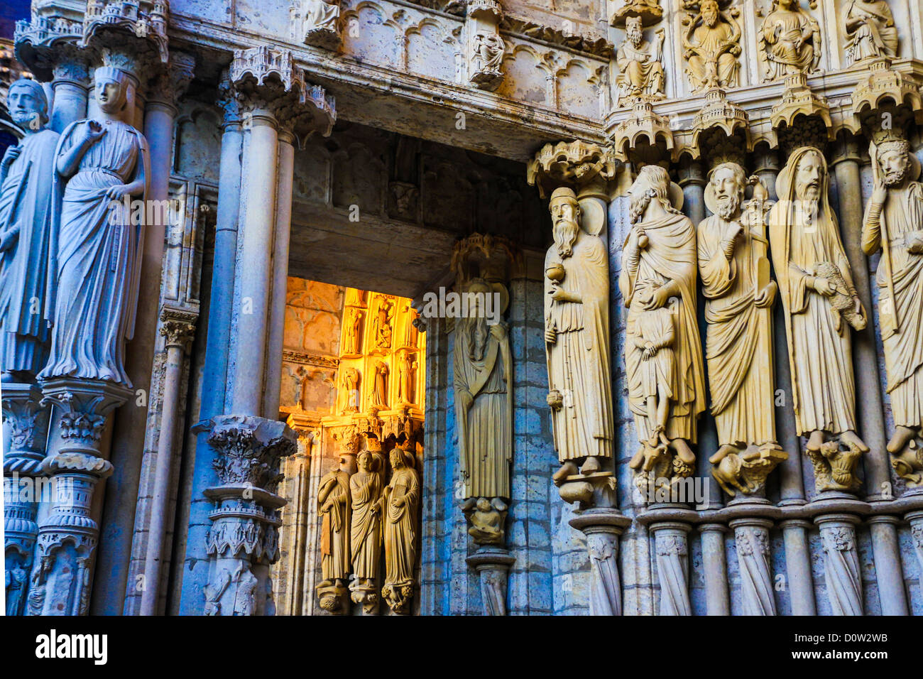 France, Europe, travel, Chartres, cathedral, world heritage Stock ...