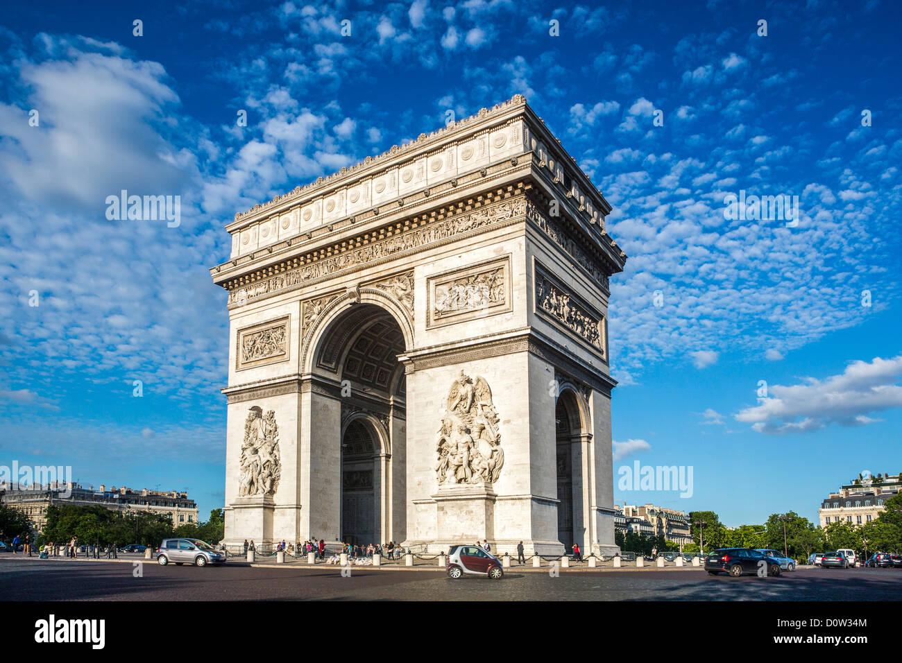 France europe travel paris city arc de triomphe for Architecture francaise