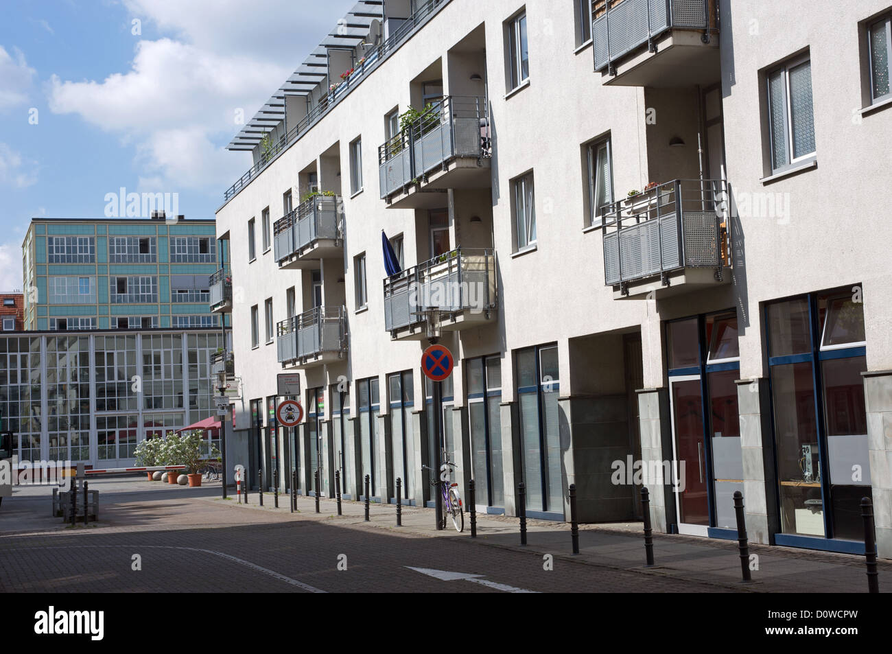 residential apartments cologne germany stock photo, royalty free