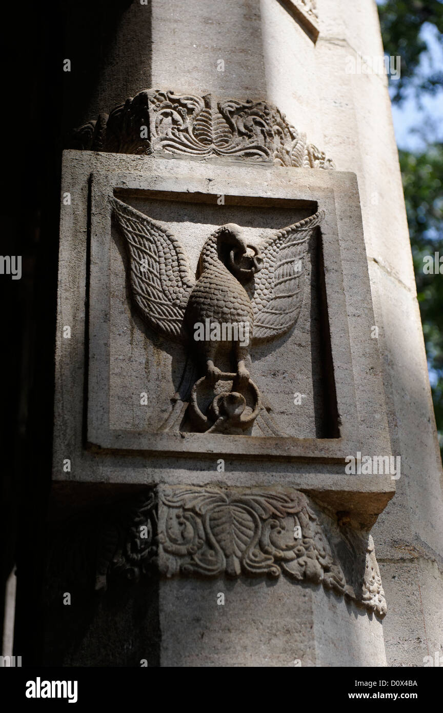 Phoenix symbol in the temple of the tooth relic a buddhist temple phoenix symbol in the temple of the tooth relic a buddhist temple in the city of kandy sri lanka buycottarizona Choice Image