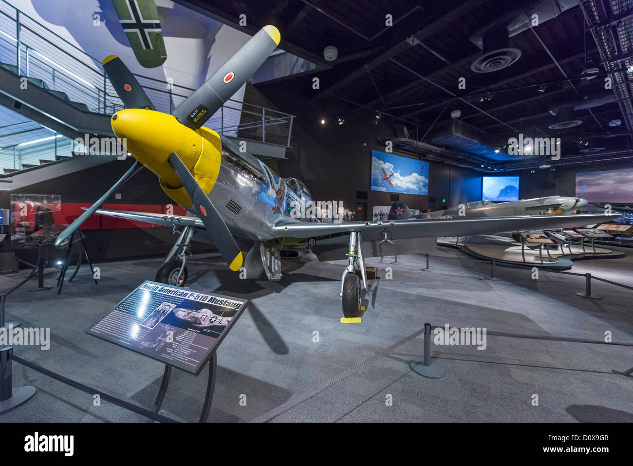 North American Aviation PD Mustang The World War II Gallery - World war ii museums in usa