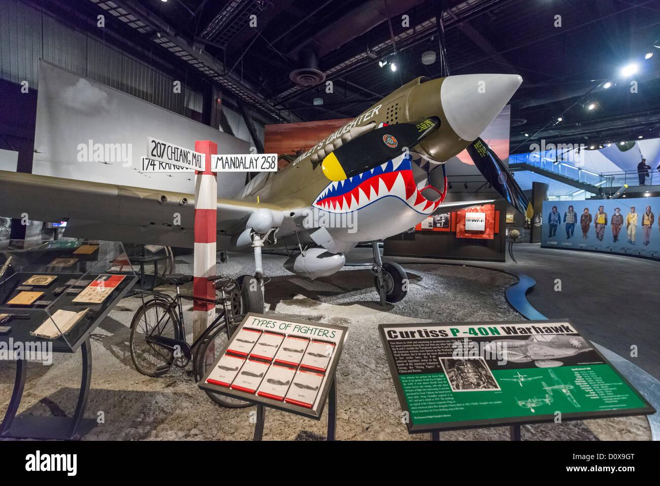 Curtiss PN Warhawk The World War II Gallery Museum Of Flight - World war ii museums in usa