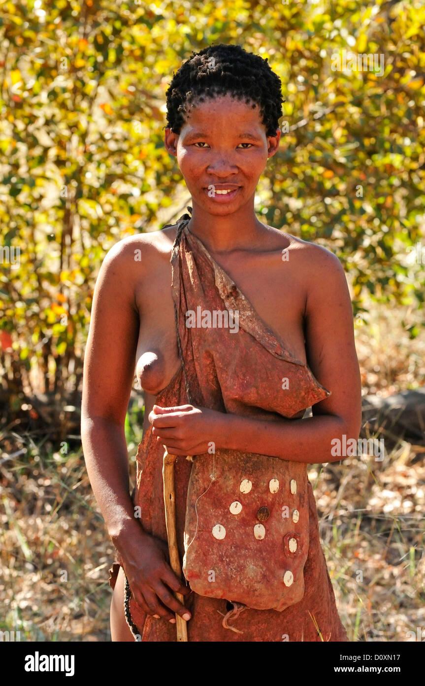 africa bushmen namibia portrait cane clan hunter