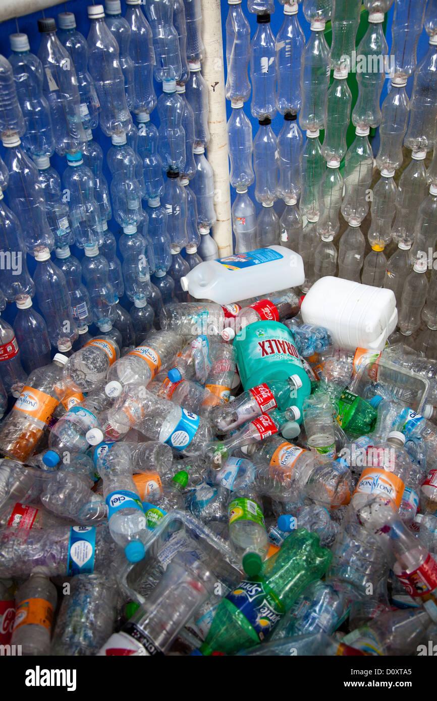 Plastic Bottle Recycling Plastic Bottle Recycling Bank In Coyoacan Mexico City Stock