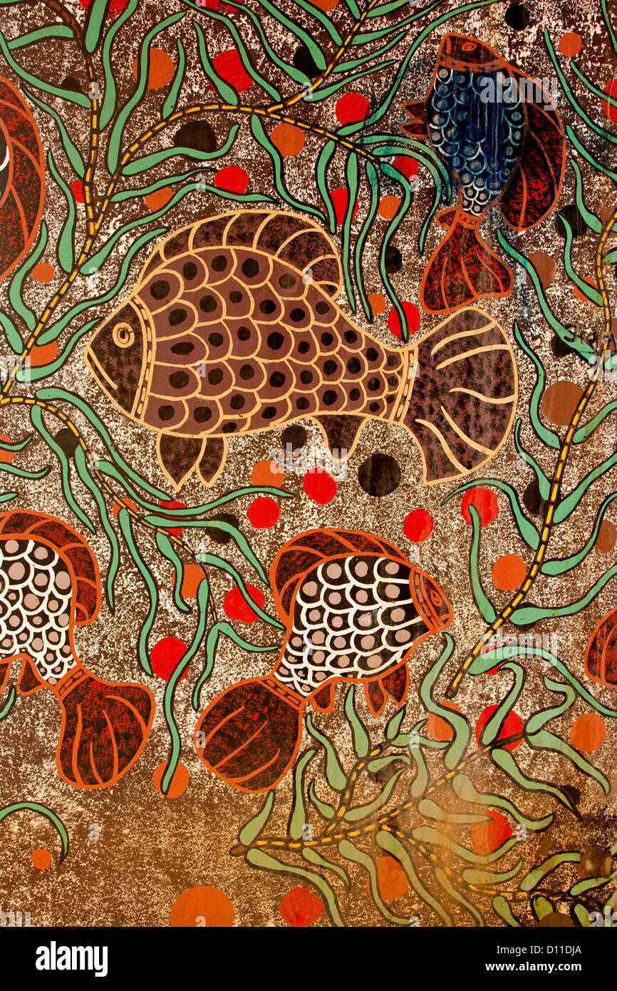 Famous Aboriginal Art Painting Of An Animal