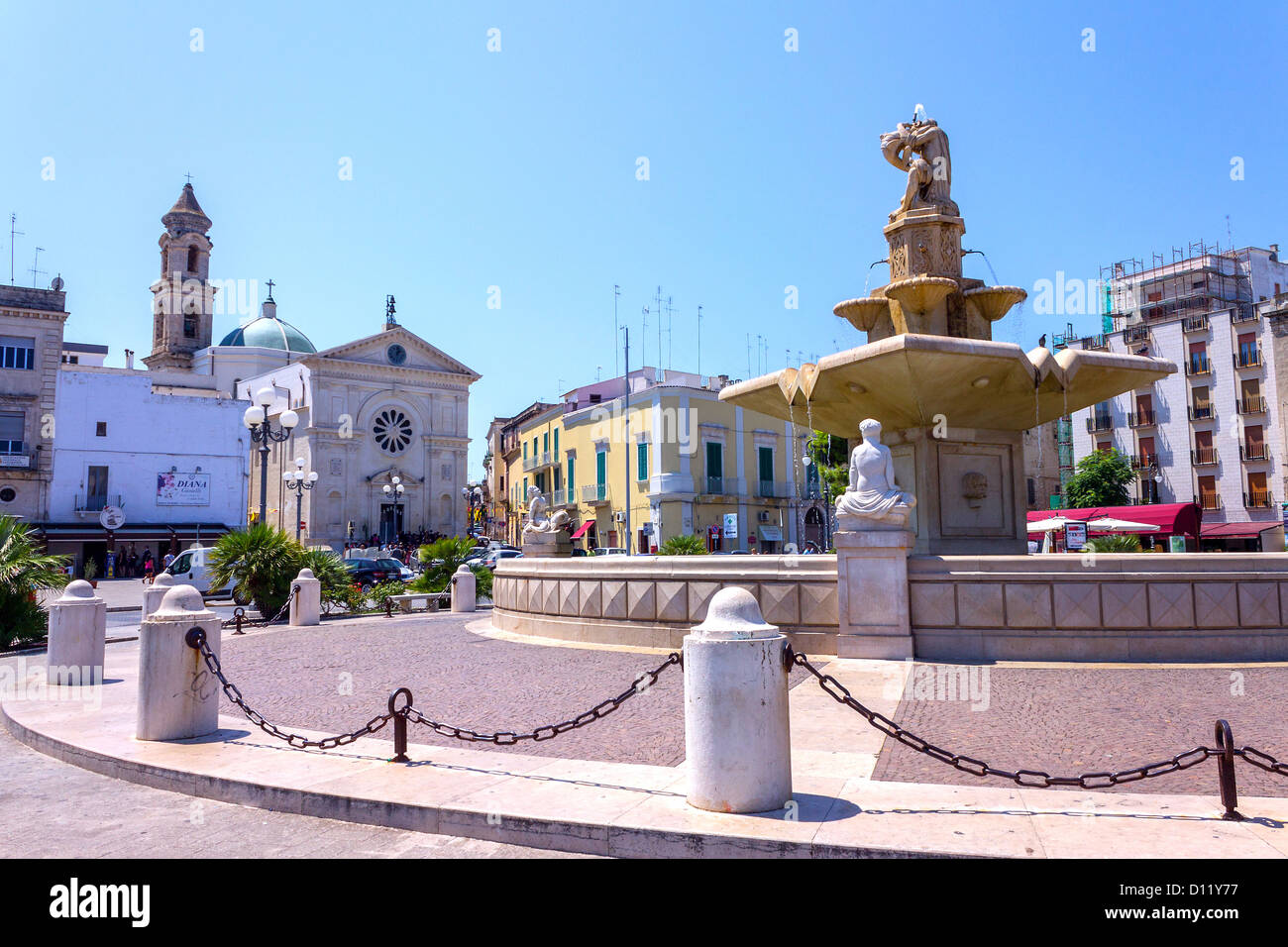 Mola Di Bari Italy  city photo : Italy, Apulia, Mola Di Bari, Piazza Xx Settembre Stock Photo, Royalty ...
