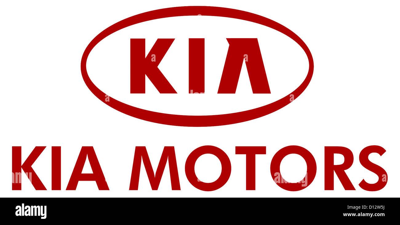 Company Logo Of The Korean Automaker Kia Motors In The