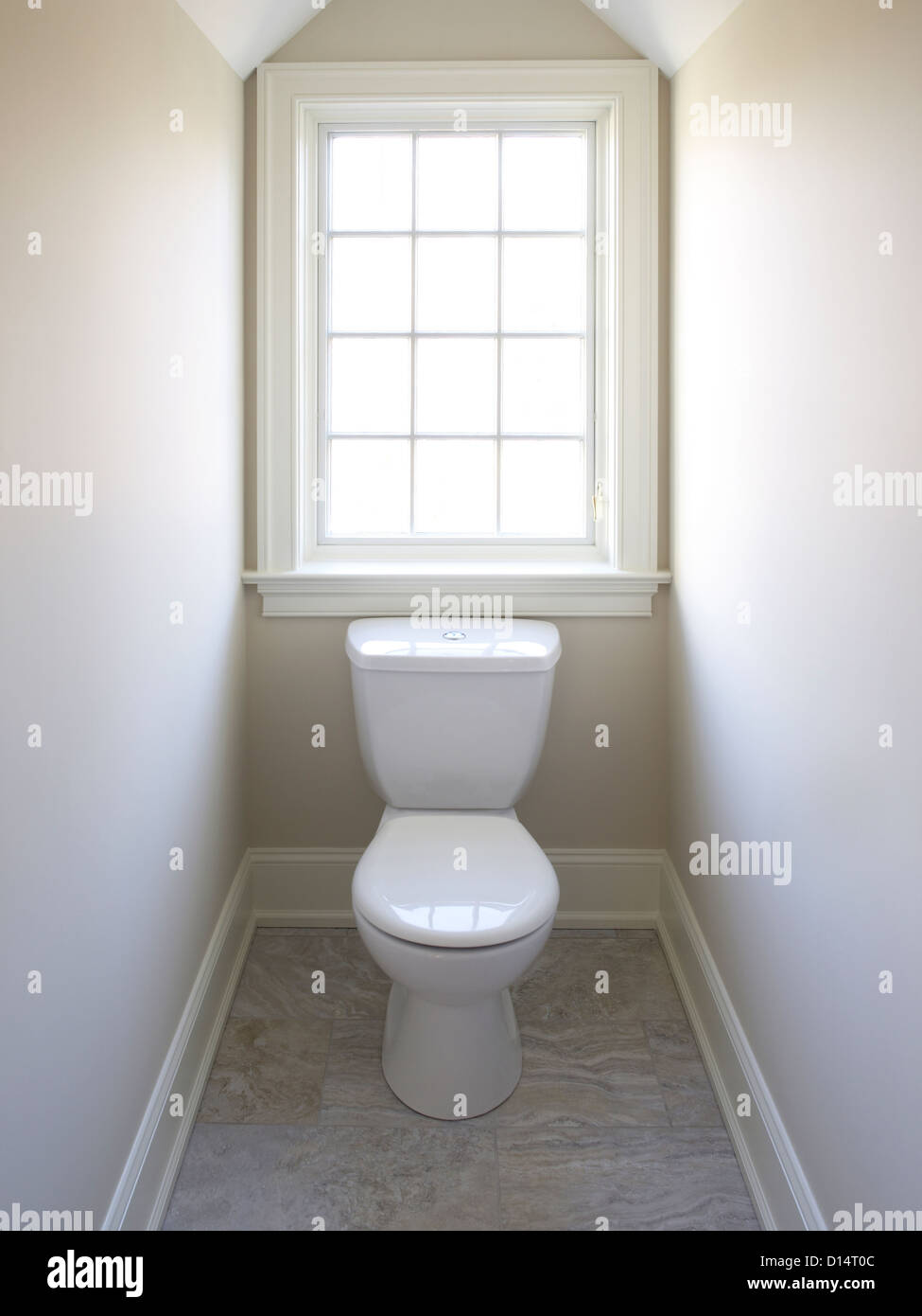 Toilet window in very small room stock photo royalty for Very small toilet ideas