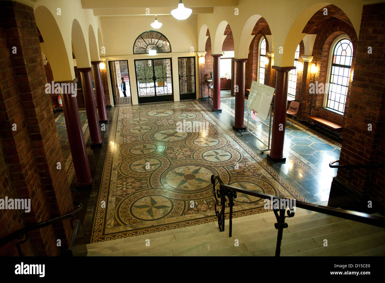 Foyer And Entryways University : Entrance foyer of winthrop hall university western