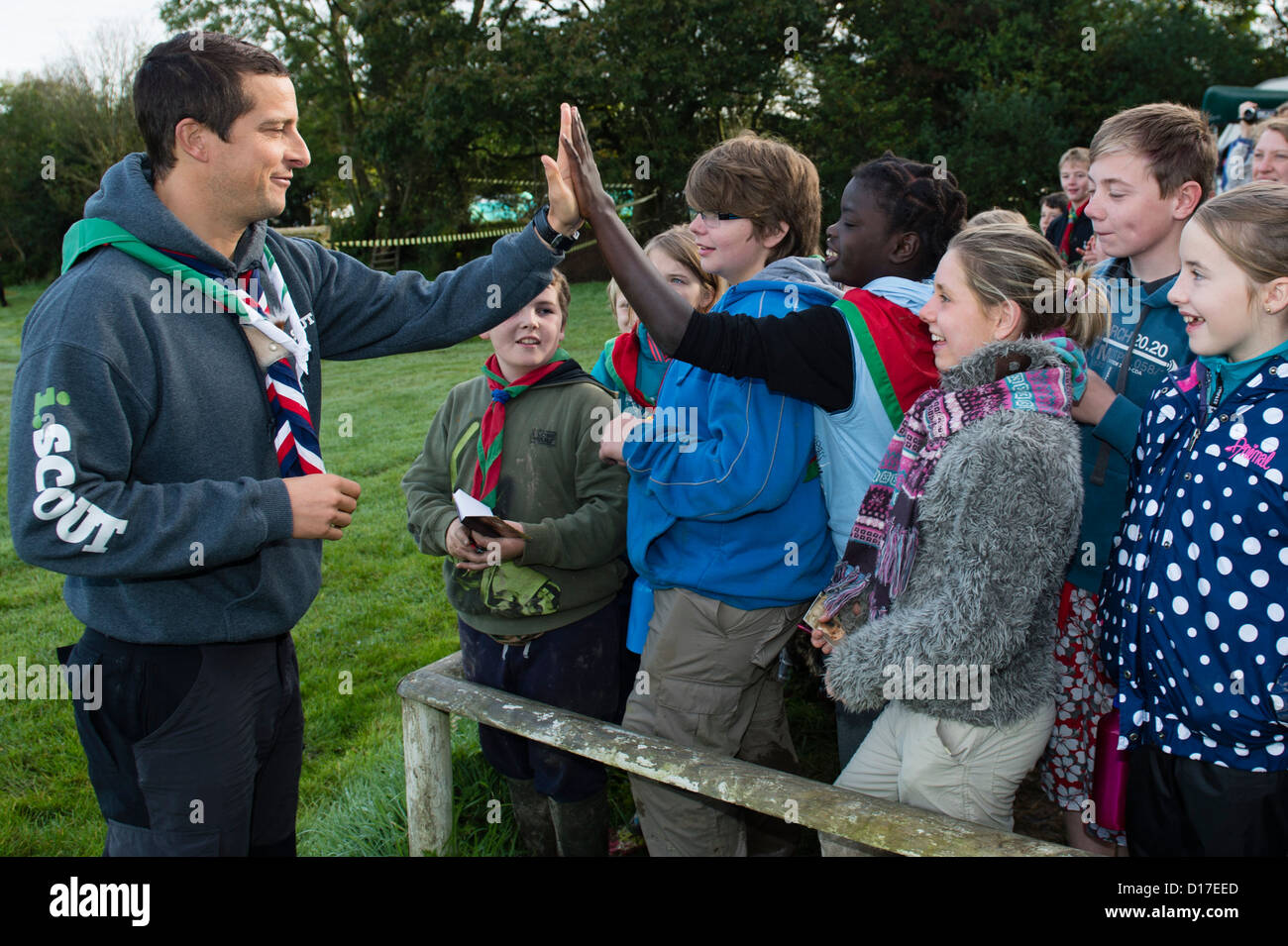 Cub scouts on parade, UK Stock Photo, Royalty Free Image: 57648974 ...