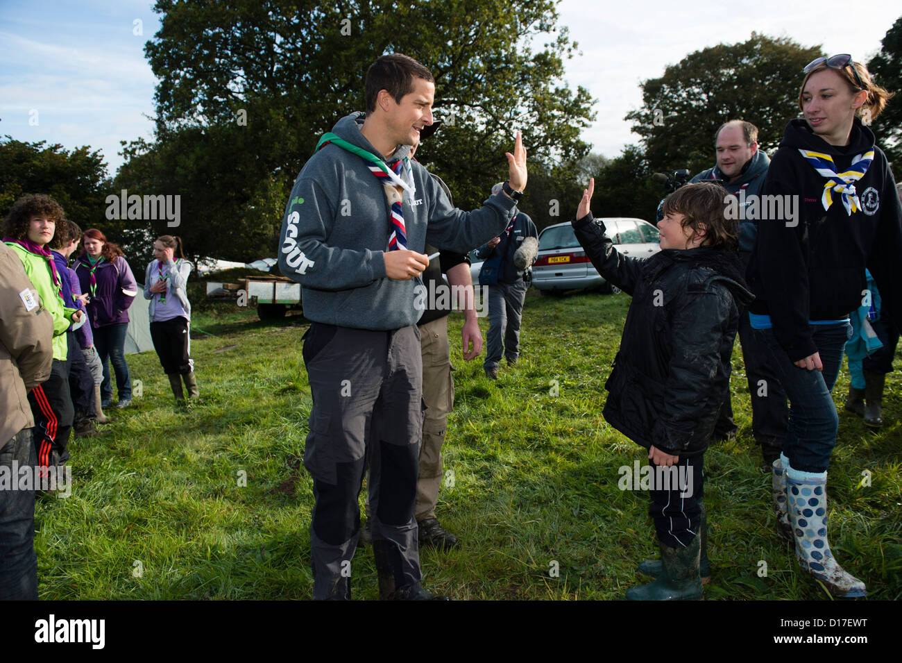 Scout Camp Uk Stock Photos &- Scout Camp Uk Stock Images - Alamy