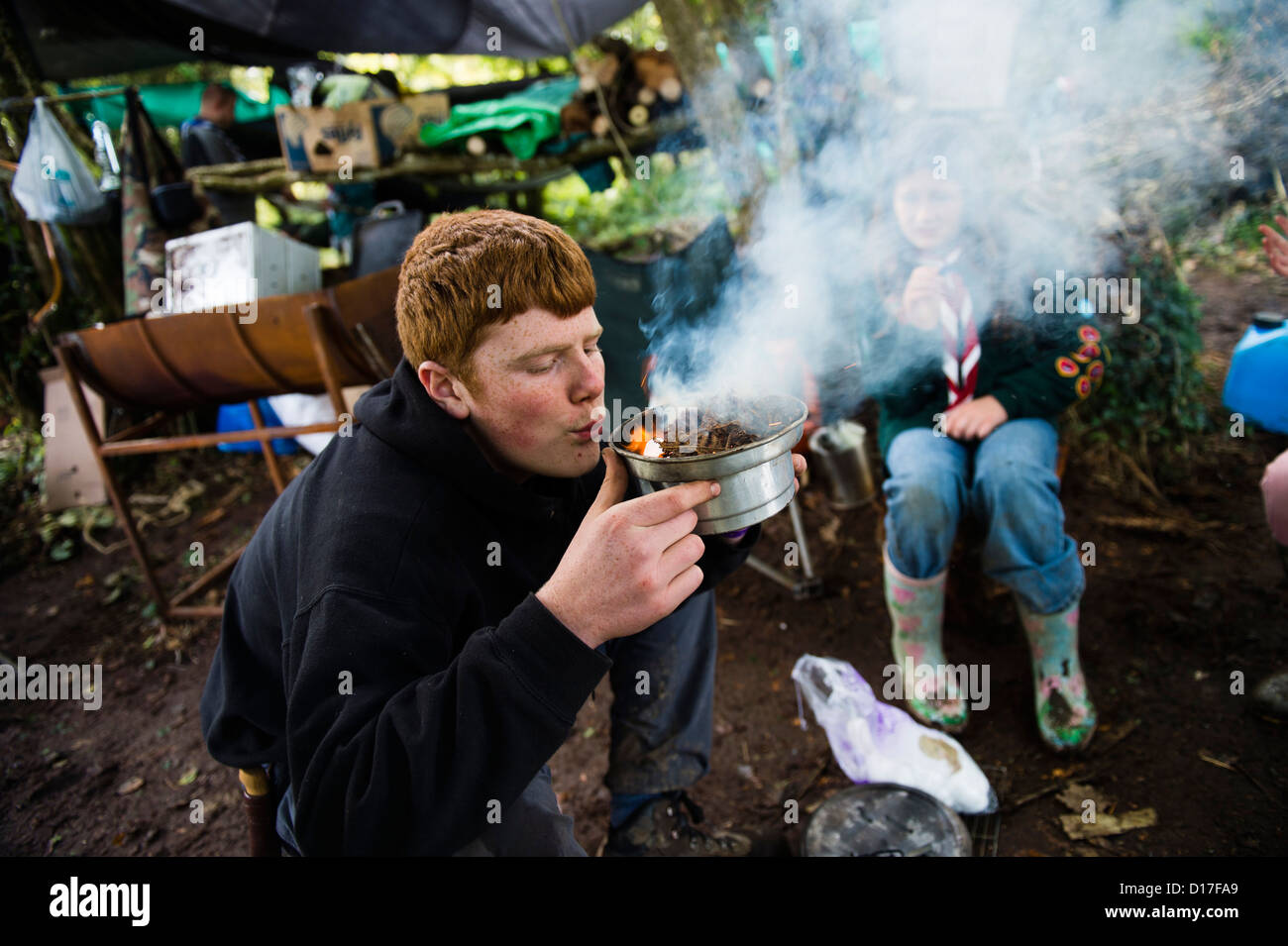 Boy Scouts Stock Photos &- Boy Scouts Stock Images - Alamy