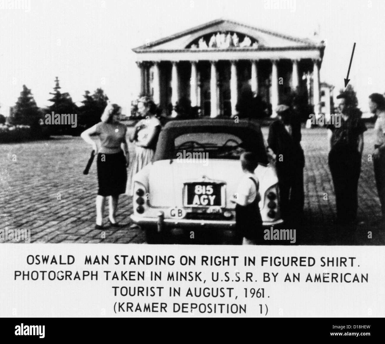 warren commission Washington, sept 27--the assassination of president kennedy was the work of one man, lee harvey oswald there was no conspiracy, foreign or domestic.
