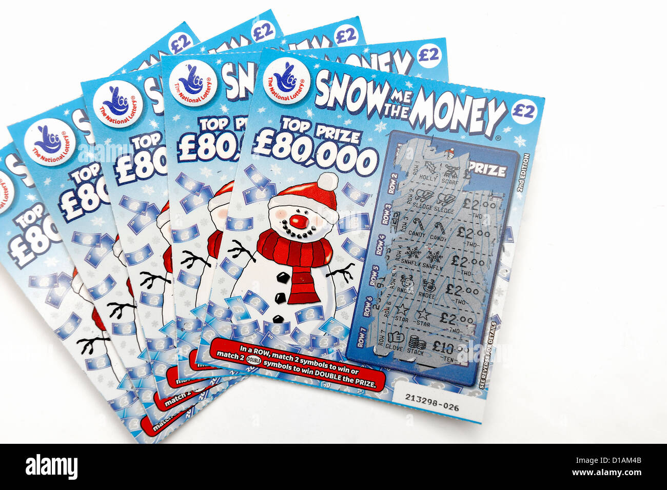 christmas scratch cards