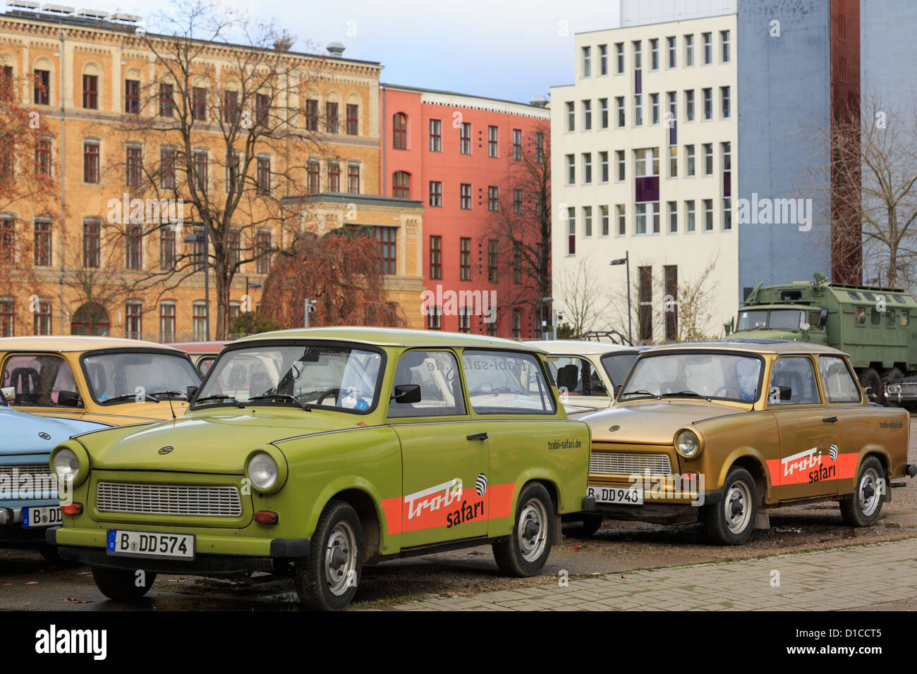 Old Trabi safari Trabant cars used for city sightseeing tours in ...