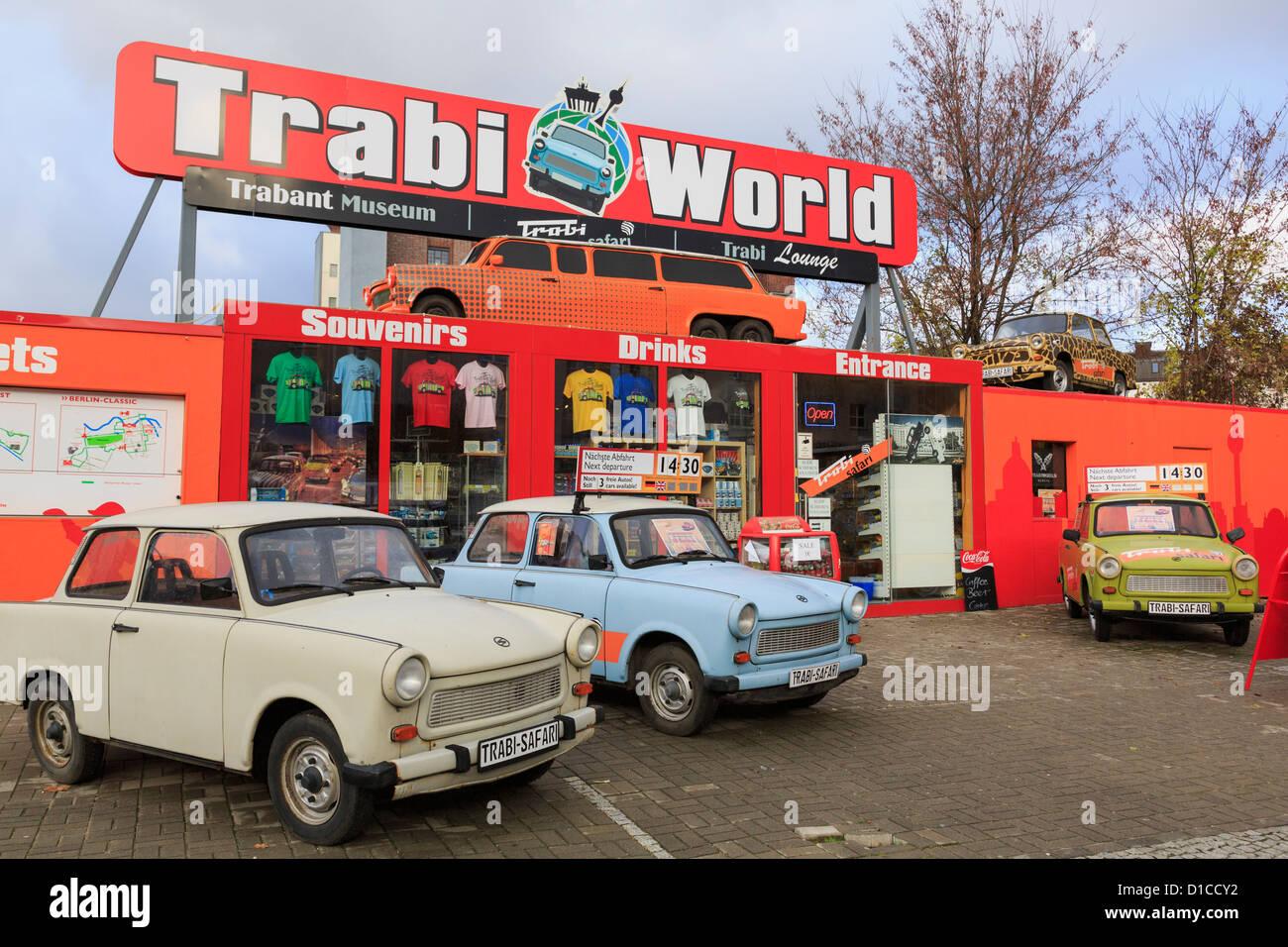 Trabi World Trabant car museum and safari in Berlin, Germany Stock ...