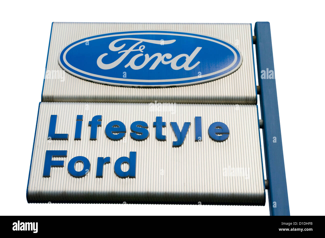 Ford Car Dealers Sign  sc 1 st  Alamy & Ford Car Dealers Sign Stock Photo Royalty Free Image: 52544895 ... markmcfarlin.com