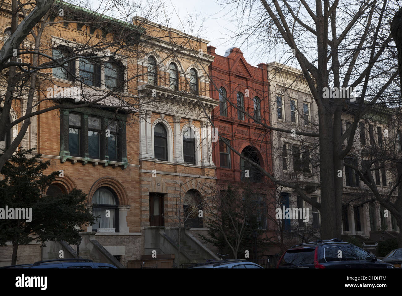 Brownstone type homes and apartments in Park Slope, Brooklyn, NYC ...