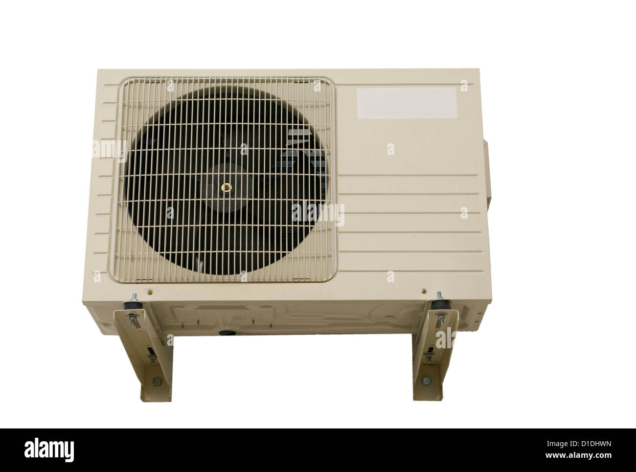 air conditioning machine. outside wall mounted air conditioning machine