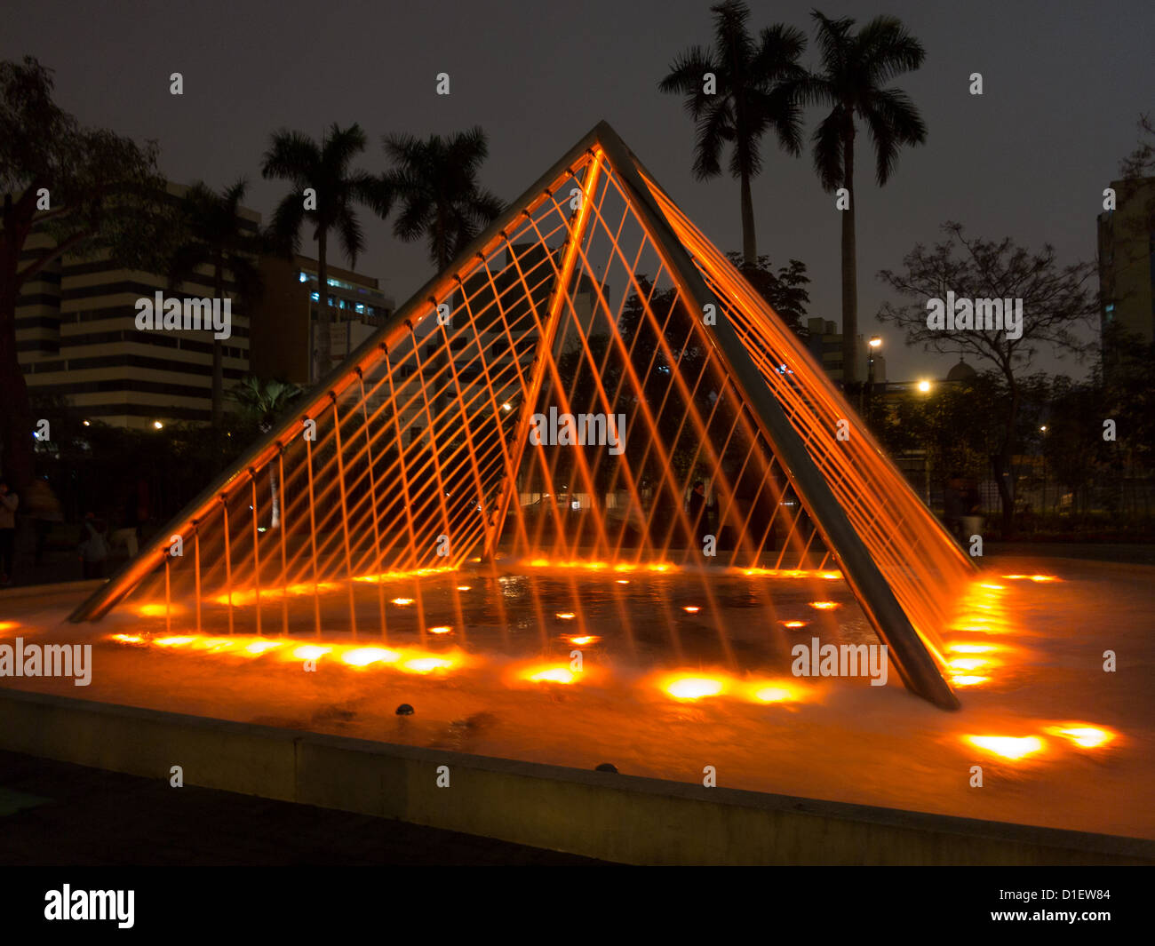 Water fountains lima - Illuminated Fountains At Dusk In Magic Water Circuit Tour El Circuito M Gico Del Agua In Reserve Park Lima Peru