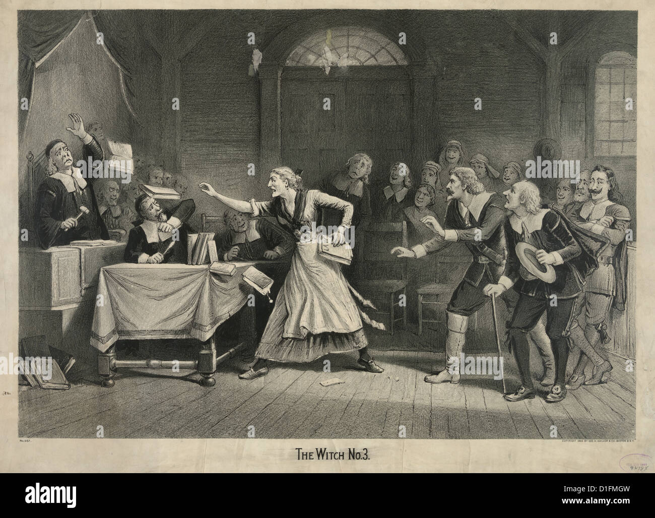 the salem witchcraft trials and the The salem witch trials were a notorious episode in new england colonial  history that led to the execution of 14 women and 6 men, in 1692, for.