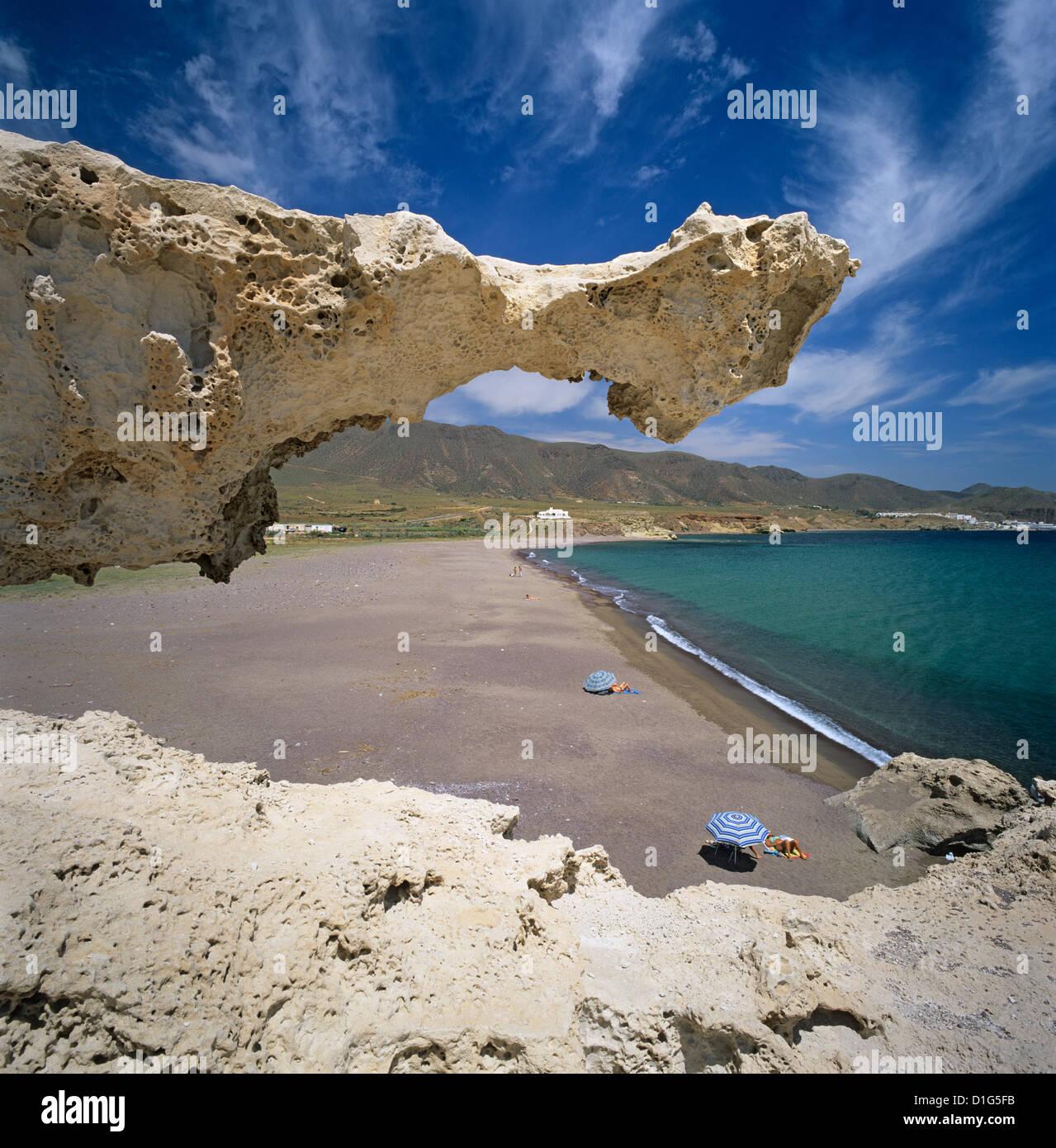 Beach scene near san jose cabo de gata costa de almeria for Cabo de gata spain