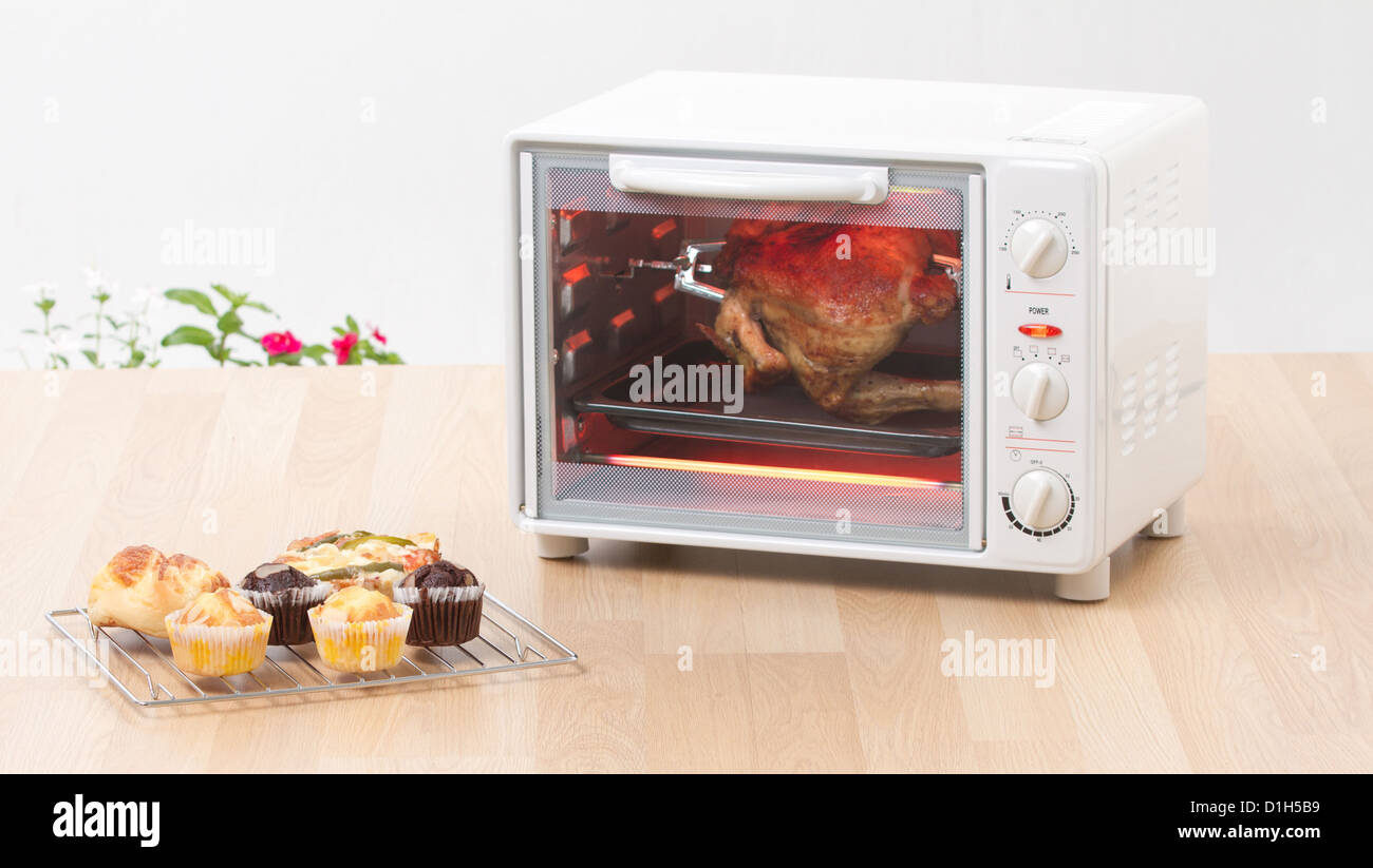 Fast Cooking Ovens Electric Chicken Grill Or Roaster Oven Fast And Convenience To
