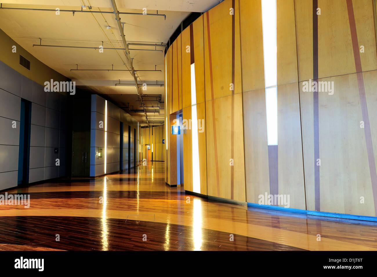 modern interior office stock. Modern Office Building Interior, Mostly Wood Design Interior Stock K