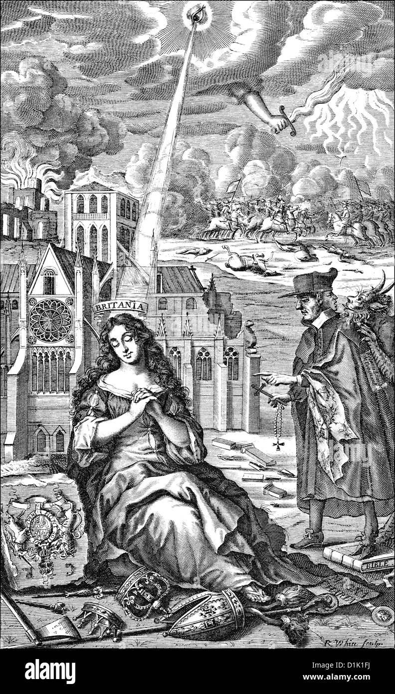 Allegory on the english civil war royalist symbolic image of the allegory on the english civil war royalist symbolic image of the overturn of king and religion 17th century buycottarizona