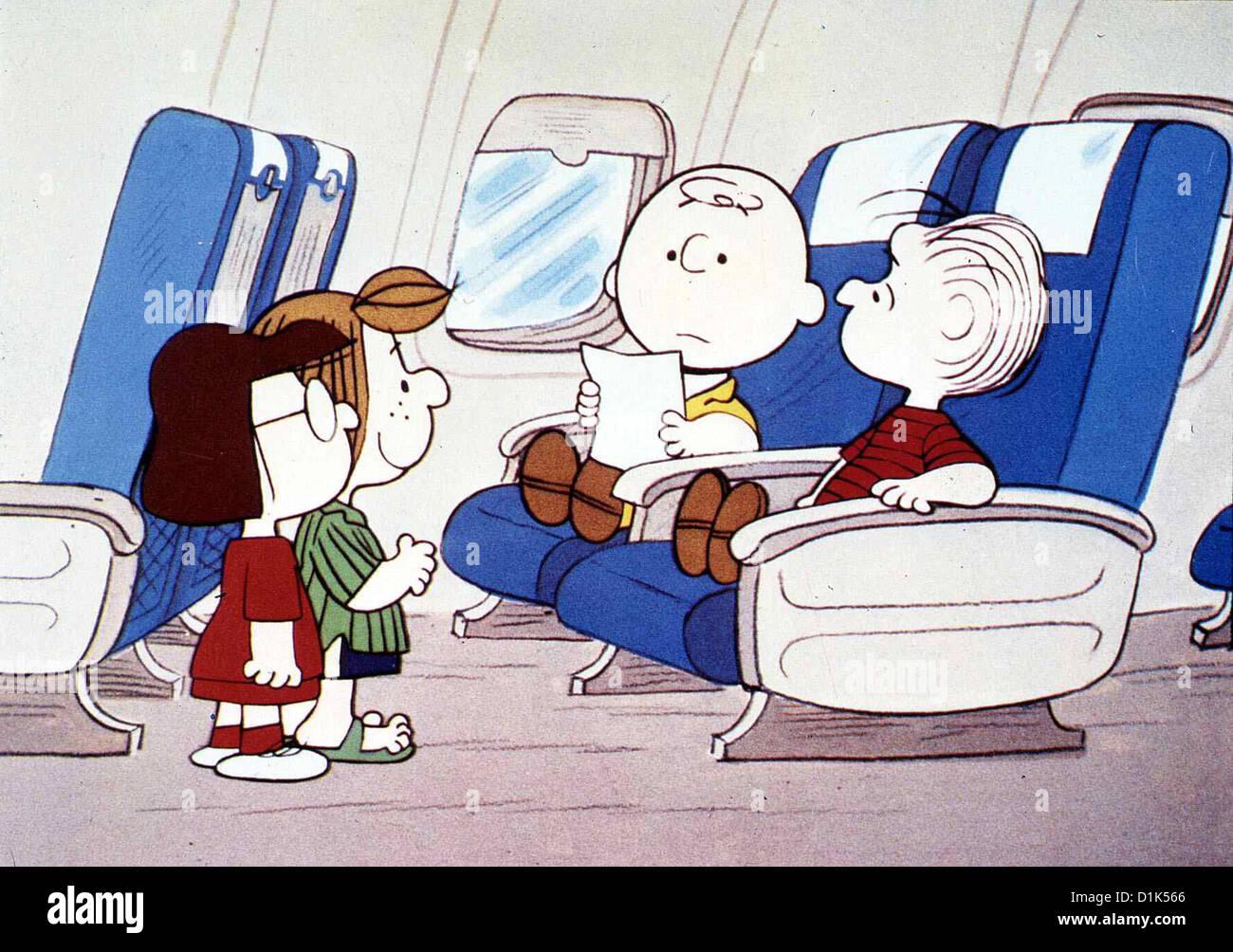 Gute Reise Charlie Brown Bon Voyage Charlie Brown Marcie Stock